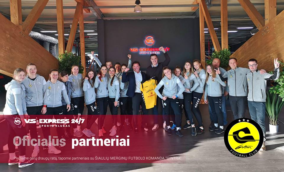 """Gintros-Universiteto"" merginos raumenukus stiprins ""VS-Express 24/7"" sporto klube"